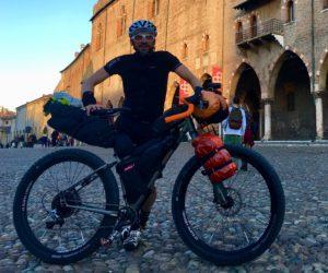 Roma Rovereto Viaggiatore Lento ciclovia viaggio pellegrino pellegrinaggio magna Via Francigena bikepacking etruschi Canterbury abate Sigerico Mantova