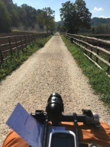 Roma Rovereto Viaggiatore Lento ciclovia viaggio pellegrino pellegrinaggio magna Via Francigena bikepacking etruschi Canterbury abate Sigerico Montalcino Eroica