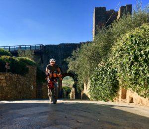 la mia Via Francigena Roma Rovereto Viaggiatore Lento ciclovia viaggio pellegrino pellegrinaggio magna Via Francigena bikepacking etruschi Canterbury abate Sigerico Monteriggioni