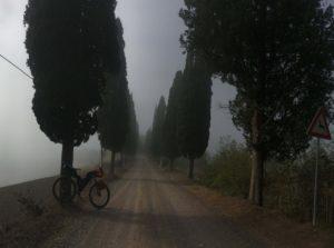 la mia Via Francigena Roma Rovereto Viaggiatore Lento ciclovia viaggio pellegrino pellegrinaggio magna Via Francigena bikepacking etruschi Canterbury abate Sigerico Montalcino Eroica
