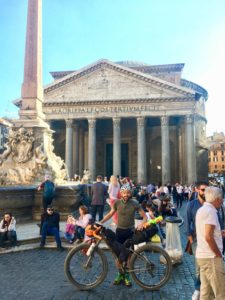 la mia Via Francigena Roma Rovereto Viaggiatore Lento ciclovia viaggio pellegrino pellegrinaggio magna Via Francigena bikepacking