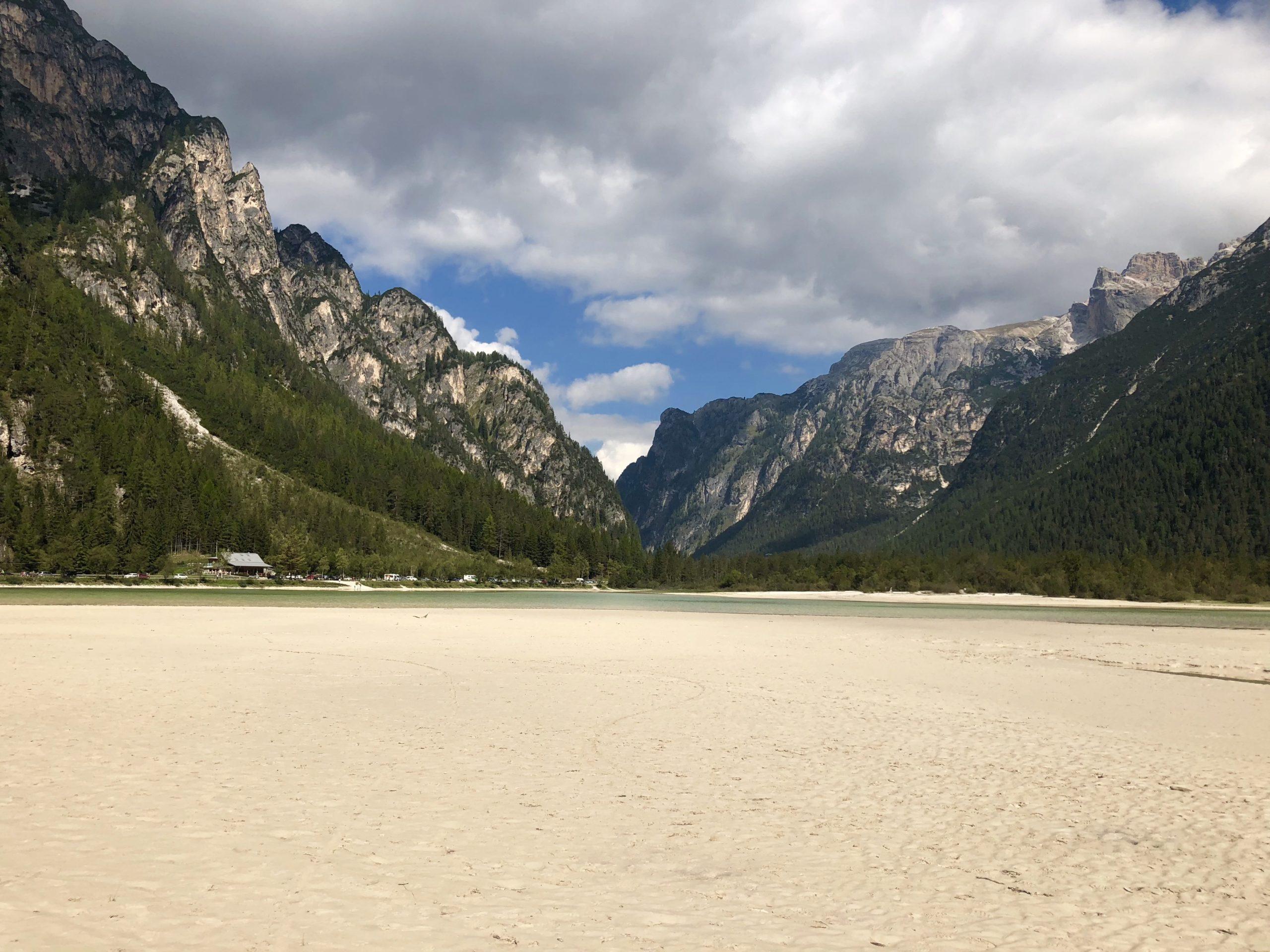 ciclabile delle Dolomiti Cortina Dobbiaco Unesco Viaggiatore Lento