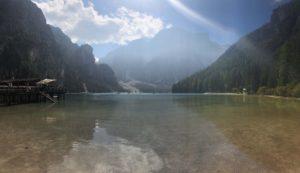 Lago di Braies sudtiorol dolomiti UNESCO viaggiatore lento