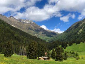 val Austria in bicicletta Val Casies dolomiti sudtirol UNESCO viaggiatore lento