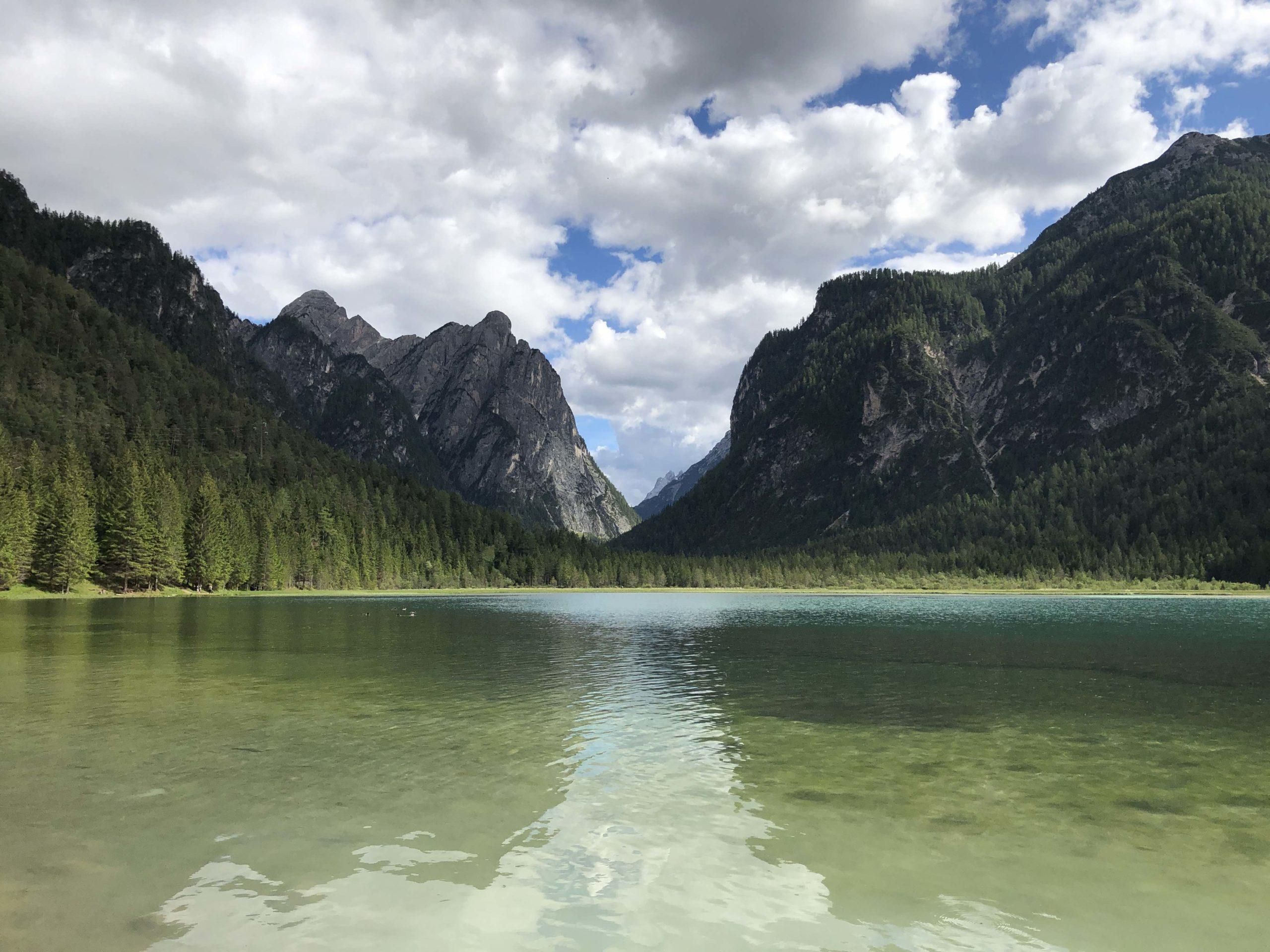 ciclabile delle Dolomiti visit Southtyrol viaggiatore lento dolomiti sudtirol Südtirol cicloturismo Dobbiaco lago di dobbiaco Cortina d'Ampezzo ciclovia