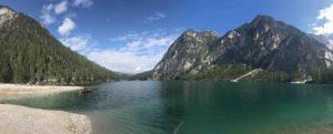 Lago di Braies Dolomiti Alto Adige sudtirol viaggiatore lento